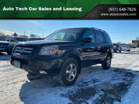 2007 Honda Pilot for sale at Auto Tech Car Sales and Leasing in Saint Paul MN
