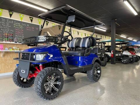 2021 Deluxe Renegade LSV for sale at 70 East Custom Carts Atlantic Beach in Atlantic Beach NC
