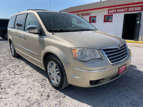 2010 Chrysler Town and Country for sale at Sarpy County Motors in Springfield NE