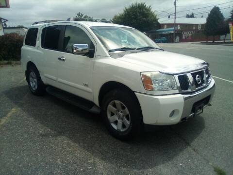 2006 Nissan Armada for sale at Payless Car & Truck Sales in Mount Vernon WA