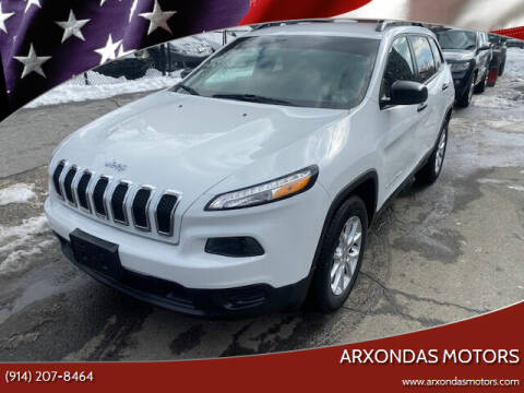 2016 Jeep Cherokee for sale at ARXONDAS MOTORS in Yonkers NY