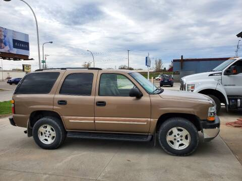 2004 Chevrolet Tahoe for sale at GOOD NEWS AUTO SALES in Fargo ND