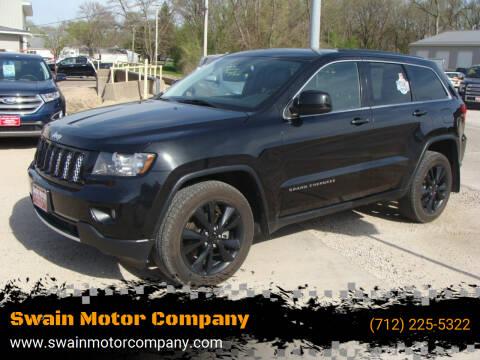 2013 Jeep Grand Cherokee for sale at Swain Motor Company in Cherokee IA
