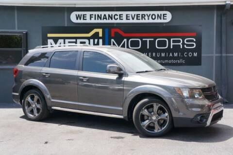 2014 Dodge Journey for sale at Meru Motors in Hollywood FL