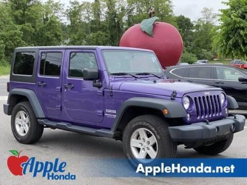 2018 Jeep Wrangler JK Unlimited for sale at APPLE HONDA in Riverhead NY
