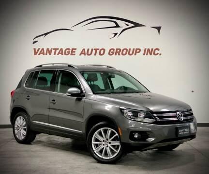 2014 Volkswagen Tiguan for sale at Vantage Auto Group Inc in Fresno CA
