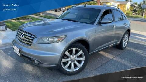 2005 Infiniti FX35 for sale at Ameer Autos in San Diego CA