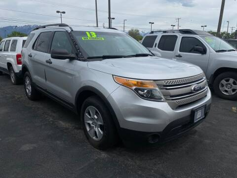 2013 Ford Explorer for sale at Choice Motors of Salt Lake City in West Valley City UT