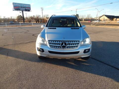 2008 Mercedes-Benz M-Class for sale at Iconic Motors of Oklahoma City, LLC in Oklahoma City OK