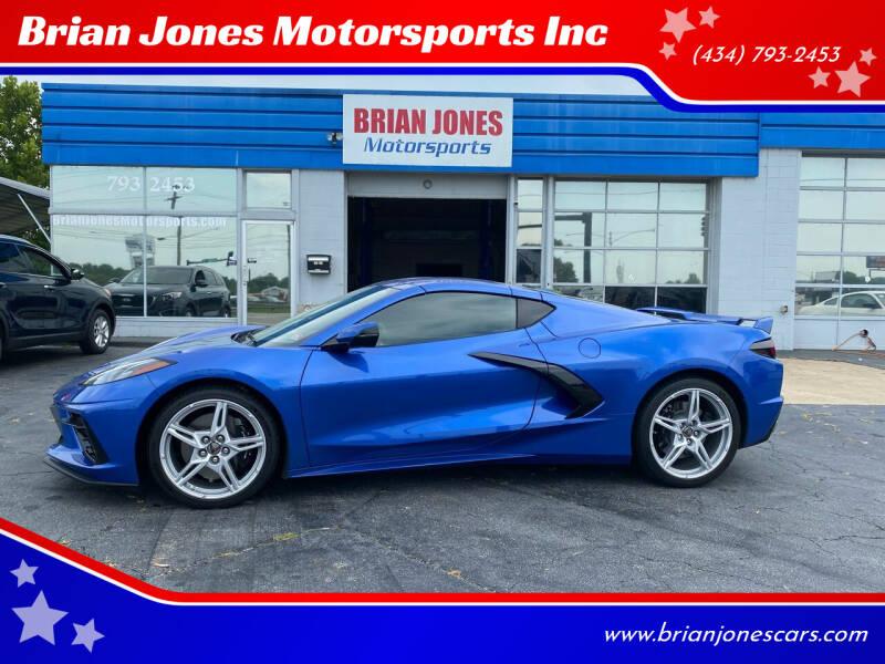 2020 Chevrolet Corvette for sale at Brian Jones Motorsports Inc in Danville VA