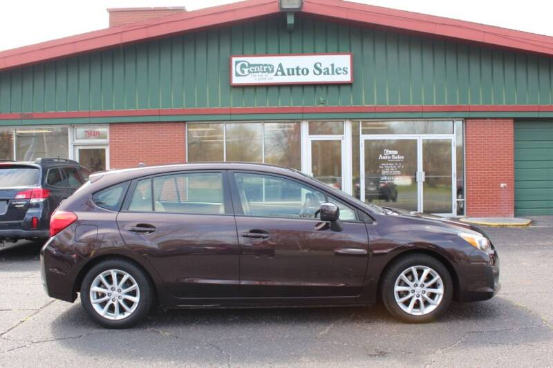 2013 Subaru Impreza for sale at Gentry Auto Sales in Portage MI