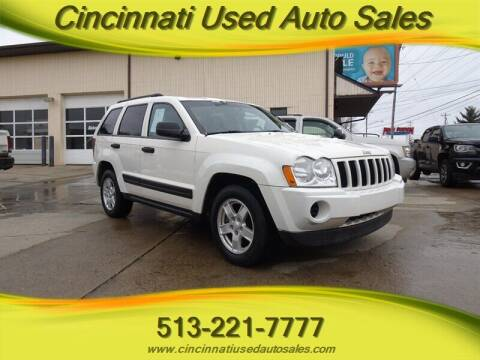 2006 Jeep Grand Cherokee for sale at Cincinnati Used Auto Sales in Cincinnati OH