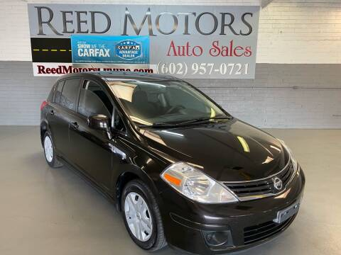 2011 Nissan Versa for sale at REED MOTORS LLC in Phoenix AZ