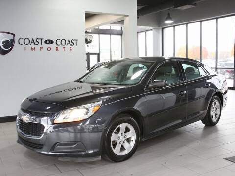 2015 Chevrolet Malibu for sale at Coast to Coast Imports in Fishers IN