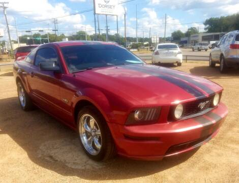 2005 Ford Mustang for sale at Dorsey Auto Sales in Tyler TX