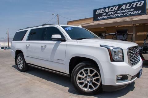 2018 GMC Yukon XL for sale at Beach Auto and RV Sales in Lake Havasu City AZ