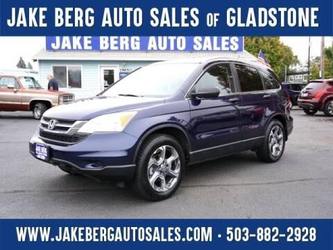 2010 Honda CR-V for sale at Jake Berg Auto Sales in Gladstone OR