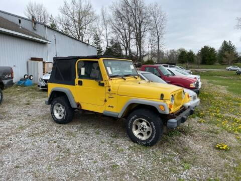 2000 Jeep Wrangler for sale at Best Buy Auto Sales in Murphysboro IL