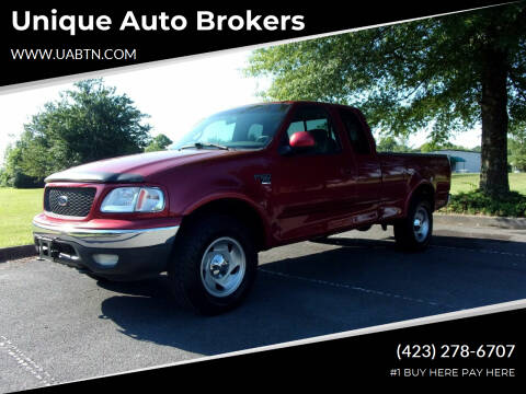 2001 Ford F-150 for sale at Unique Auto Brokers in Kingsport TN