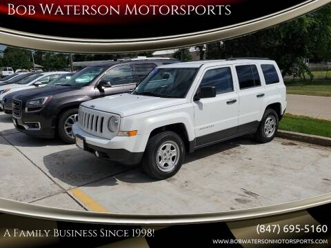 2012 Jeep Patriot for sale at Bob Waterson Motorsports in South Elgin IL