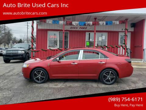 2010 Lincoln MKZ for sale at Auto Brite Used Cars Inc in Saginaw MI