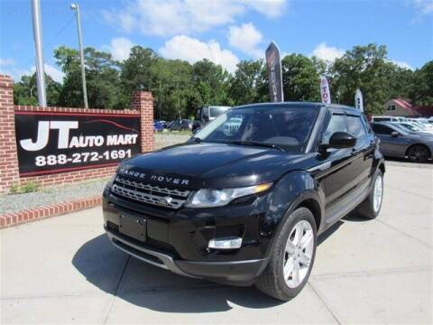 2014 Land Rover Range Rover Evoque for sale at J T Auto Group in Sanford NC