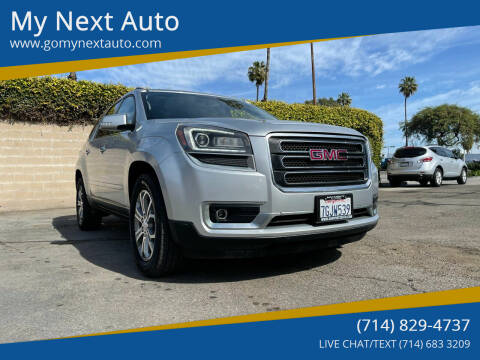 2015 GMC Acadia for sale at My Next Auto in Anaheim CA