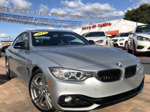 2015 BMW 4 Series for sale at Cars of Tampa in Tampa FL