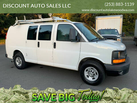 2012 Chevrolet Express Cargo for sale at DISCOUNT AUTO SALES LLC in Spanaway WA