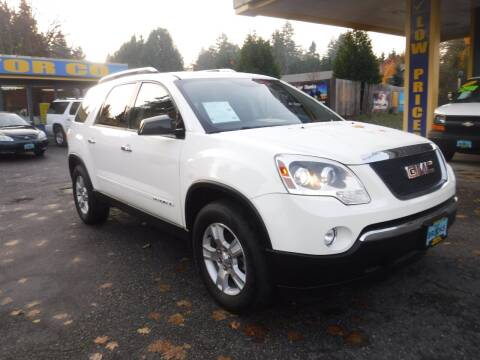 2007 GMC Acadia for sale at Brooks Motor Company, Inc in Milwaukie OR