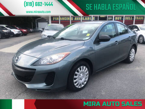 2013 Mazda MAZDA3 for sale at Mira Auto Sales in Raleigh NC