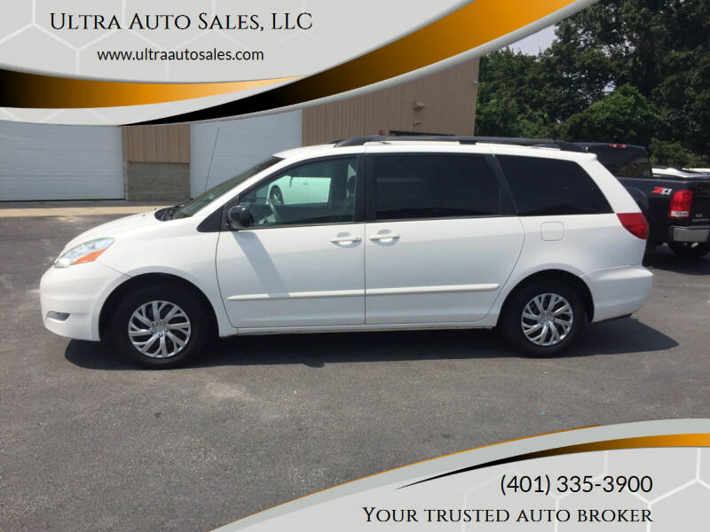 2007 Toyota Sienna for sale at Ultra Auto Sales, LLC in Cumberland RI