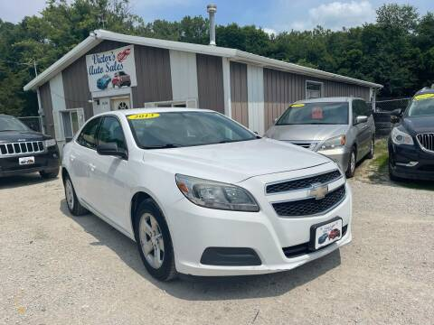 2013 Chevrolet Malibu for sale at Victor's Auto Sales Inc. in Indianola IA