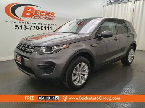 2018 Land Rover Discovery Sport for sale at Becks Auto Group in Mason OH