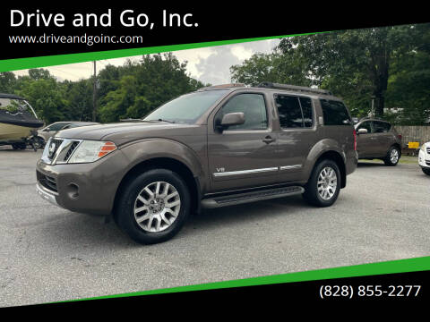 2008 Nissan Pathfinder for sale at Drive and Go, Inc. in Hickory NC