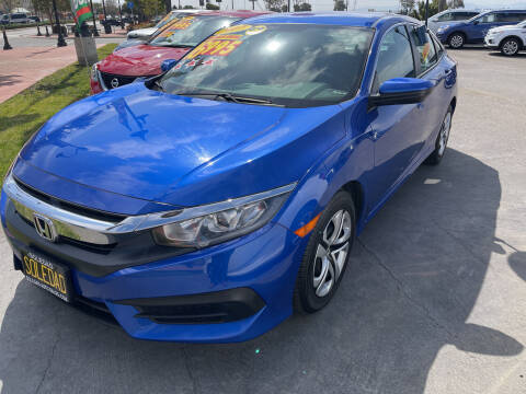 2017 Honda Civic for sale at Soledad Auto Sales in Soledad CA