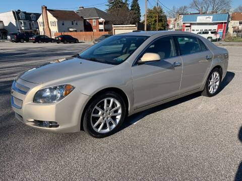 2010 Chevrolet Malibu for sale at On The Circuit Cars & Trucks in York PA