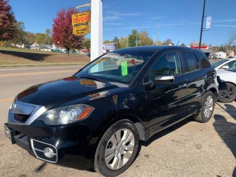 2010 Acura RDX for sale at Nelson's Straightline Auto - 23923 Burrows Rd in Independence WI