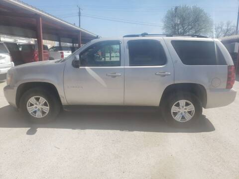 2009 Chevrolet Tahoe for sale at Faw Motor Co in Cambridge NE