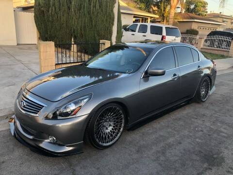 2013 Infiniti G37 Sedan for sale at Bell Auto Inc in Long Beach CA