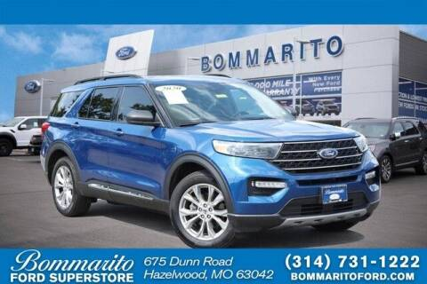 2020 Ford Explorer for sale at NICK FARACE AT BOMMARITO FORD in Hazelwood MO