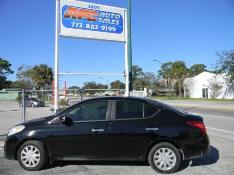 2012 Nissan Versa for sale at APC Auto Sales in Fort Pierce FL