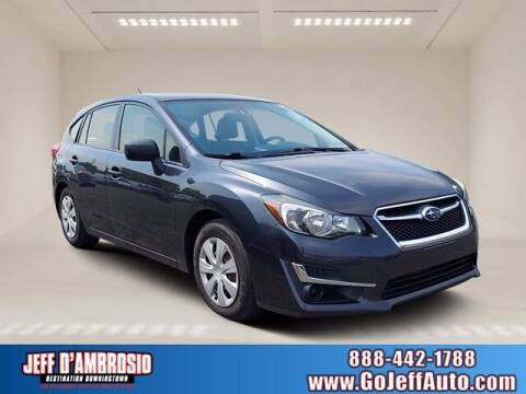 2016 Subaru Impreza for sale at Jeff D'Ambrosio Auto Group in Downingtown PA