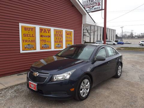 2014 Chevrolet Cruze for sale at Mack's Autoworld in Toledo OH