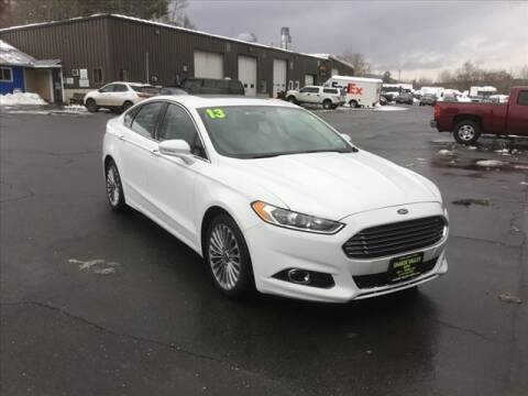 2013 Ford Fusion for sale at SHAKER VALLEY AUTO SALES - Late Models in Enfield NH