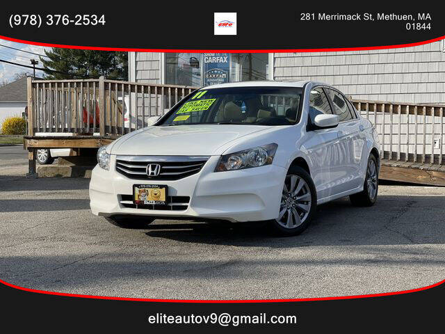 2011 Honda Accord for sale at ELITE AUTO SALES, INC in Methuen MA