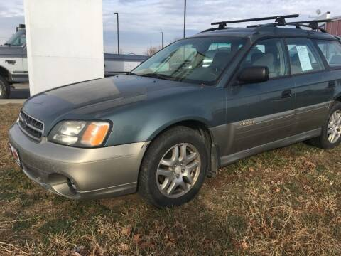 2001 Subaru Outback for sale at HUM MOTORS in Caldwell ID