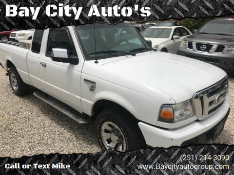 2008 Ford Ranger for sale at Bay City Auto's in Mobile AL