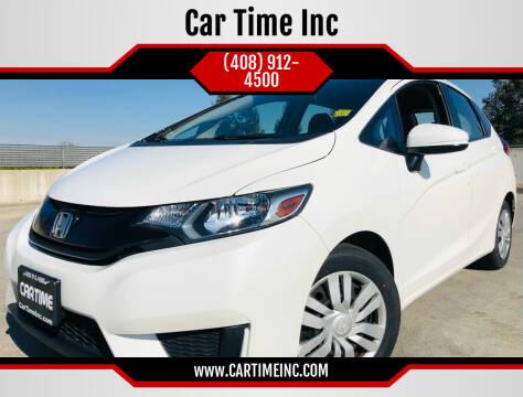 2016 Honda Fit for sale at Car Time Inc in San Jose CA