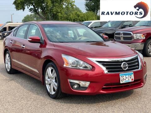 2015 Nissan Altima for sale at RAVMOTORS in Burnsville MN